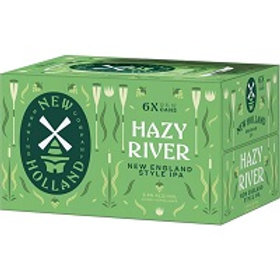 New Holland Hazy River 6 Pack 12 oz Cans