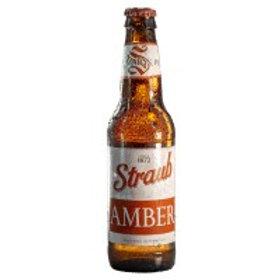 Straub Amber 24 Pack 12 oz Bottles