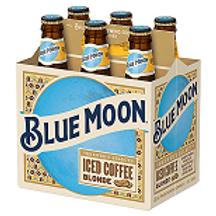 Blue Moon Blonde Coffee  24 Pack 12 oz Bottles