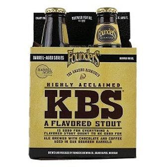 Founders KBS Stout 4 Pack 12 oz Bottles