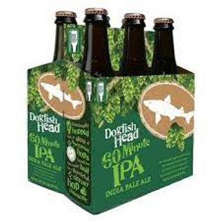 Dogfish 60 Minute IPA 6 Pack 12 oz Bottles