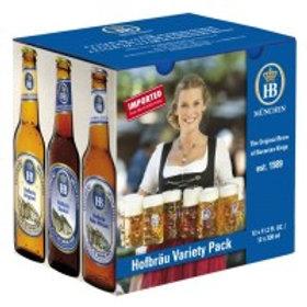 Hofbrau Variety Pack 12 Pack 11.2 oz Bottles