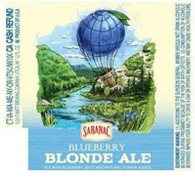 Saranac Blueberry Blonde 6 Pack 12 oz Bottles