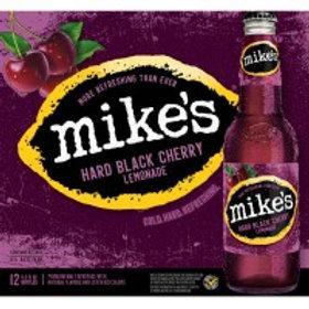 Mikes Hard Black Cherry 12 Pack 12 oz Bottles