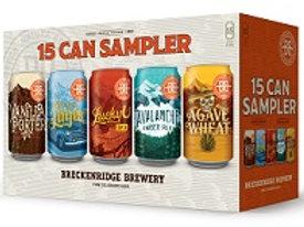 Breckenridge Sampler  15 Pack 12 oz Cans