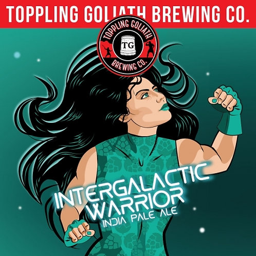 Toppling Goliath Intergalactic Warrior 4 Pack 16 oz Cans