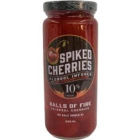 Floyds Spiked Cherries 1 Pack 375 ML Jar