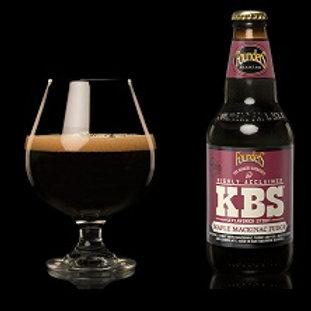 Founders KBS Maple Mackinac Fudge 4 Pack 12 oz Bottles
