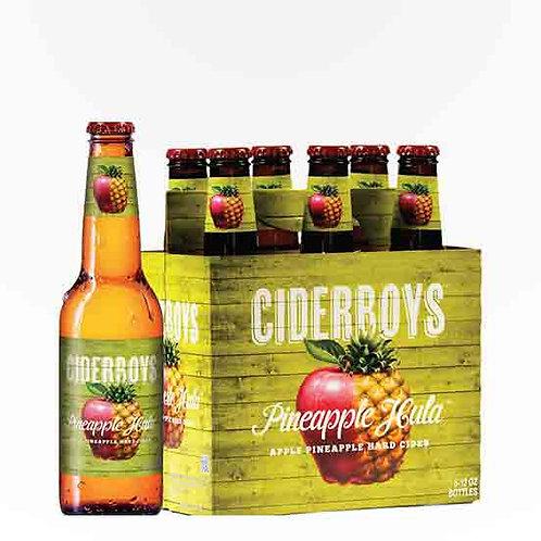 Cider Boys Pineapple Hula Cider 6 Pack 12 oz Bottles