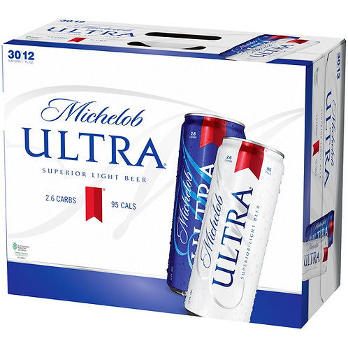 Michelob Ultra 30 Pack 12 oz Cans