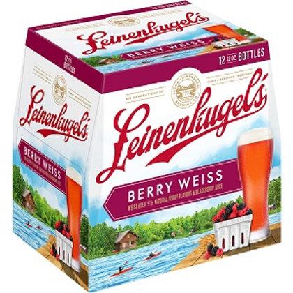 Leinenkugels Berry Weiss 12 Pack 12 oz Bottles