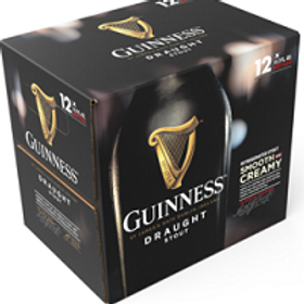Guinness Draught 24 Pack 11.2 oz Bottles
