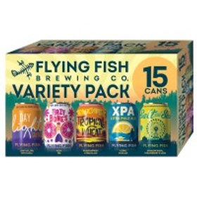 Flying Fish Variety Pack 15 Pack 12 oz Cans