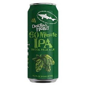 Dogfish 60 Minute IPA 4 Pack 19.2 oz Cans