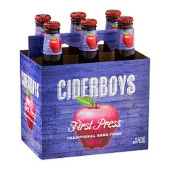 Cider Boys 1st Press  6 Pack 12 oz Bottles