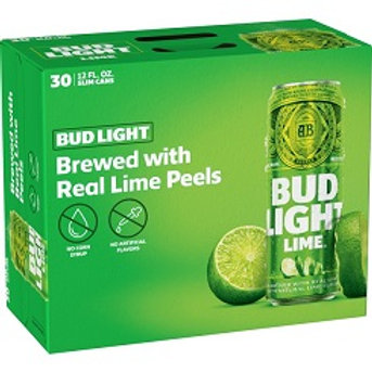 Bud Light Lime 30 Pack 12 oz Cans