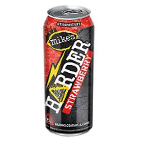 Mikes Harder Strawberry Lemonade 4 Pack 16 oz Bottles