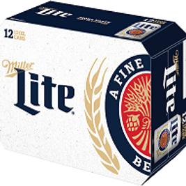 Miller Lite 12 Pack 12 oz Cans
