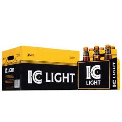 IC Light 24 Pack 12 oz Bottles
