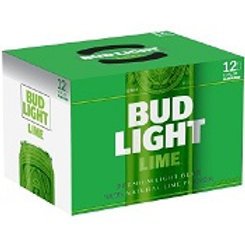 Bud Light Lime  12 Pack 12 oz Cans