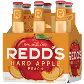 Redds Peach Ale 24 Pack 12 oz Bottles