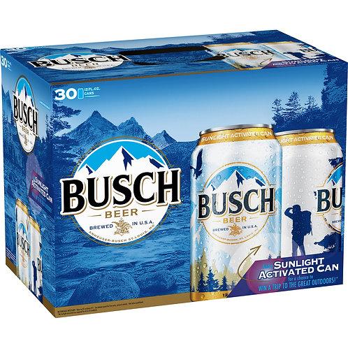 Busch  30 Pack 12 oz Cans