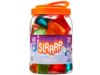 Slrrrp Alcohol-Infused Gelatin Shots, 12 pack