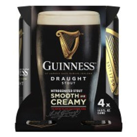 Guinness Draught 4 Pack 14.9 oz Cans