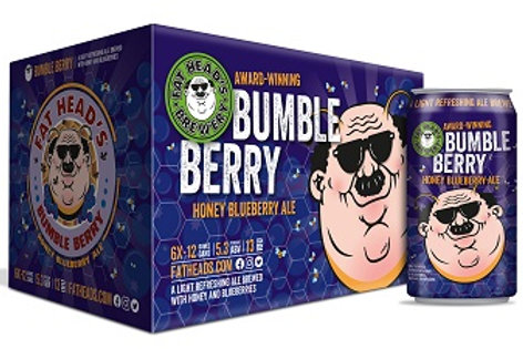 Fat Heads Bumble Berry 6 Pack 12 oz Cans