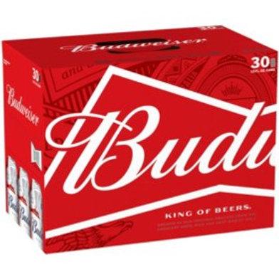 Budweiser  30 Pack 12 oz Cans