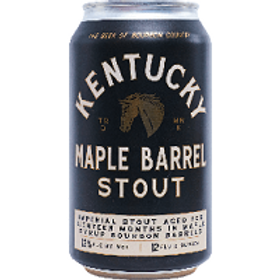 Kentucky Maple Barrel Stout 4 Pack 12 oz Cans