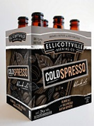 Ellicottville Coldspresso 6 Pack 12 oz Bottles