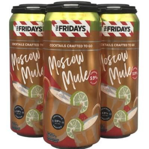 TGIF Moscow Mule  4 Pack 16 oz Cans