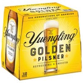 Yuengling Golden Pilsner 12 Pack 12 oz Bottles
