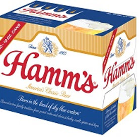Hamms 30 Pack 12 oz Cans