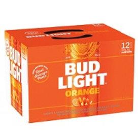 Bud Light Orange 12 Pack 12 oz Cans
