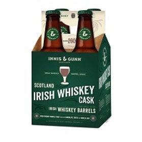 Innis & Gunn Irish Cask Whiskey Barrel Stout 4 Pack 12 oz Bottles
