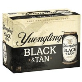 Yuengling Black and Tan 12 Pack 12 oz Cans