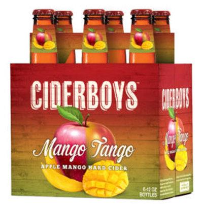 Cider Boys Mango Tango 6 Pack 12 oz Bottles