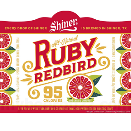 Shiner Ruby Red Bird 24 Pack 12 oz Bottles