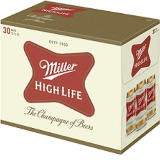 Miller High Life  30 Pack 12 oz Cans