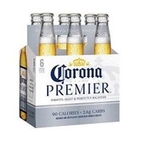Corona Premier 6 Pack 12 oz Bottles