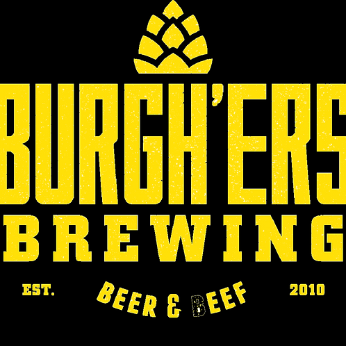 Burgh'ers Sweat & Gold IPA 4 pack 16 oz Cans