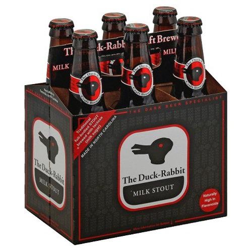 Duck Rabbit Milk Stout  6 Pack 12 oz Cans