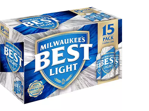 Milwaukees Best Light 15 Pack 12 oz Cans
