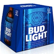 Bud Light  12 Pack 12 oz Bottles