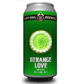 Rusty Rail Strange Love Imperial Key Lime Ale 4 Pack 16 oz Cans