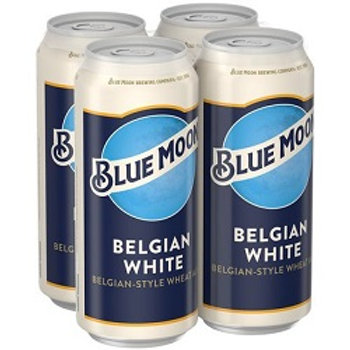 Blue Moon 4 Pack 16 oz Cans