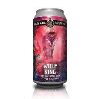 Rusty Rail Wolf King Stout 4 Pack 16 oz Cans