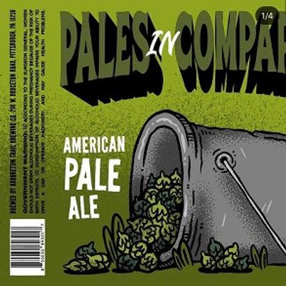 Arboretum Trail Pales in Comparison Pale Ale 4 Pack 16 oz Cans